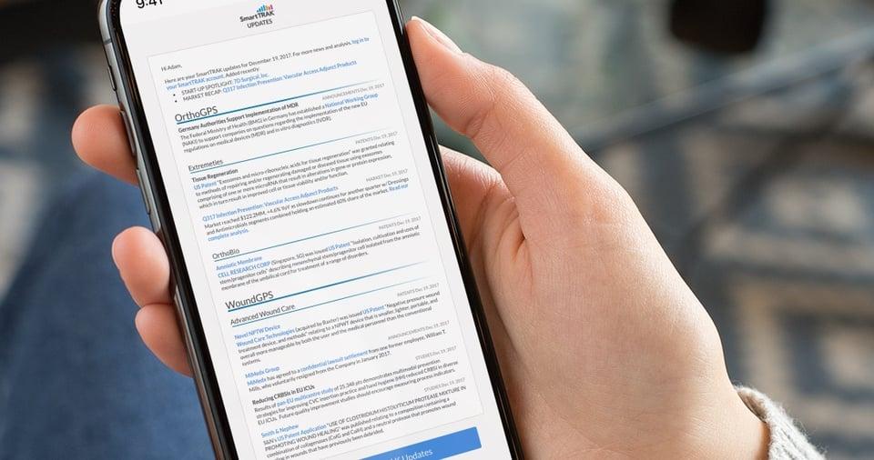 SmartTRAK Email Updates