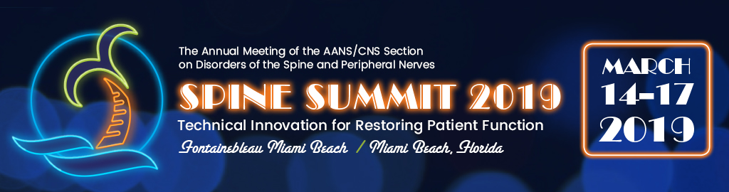 Spine Summit 2019